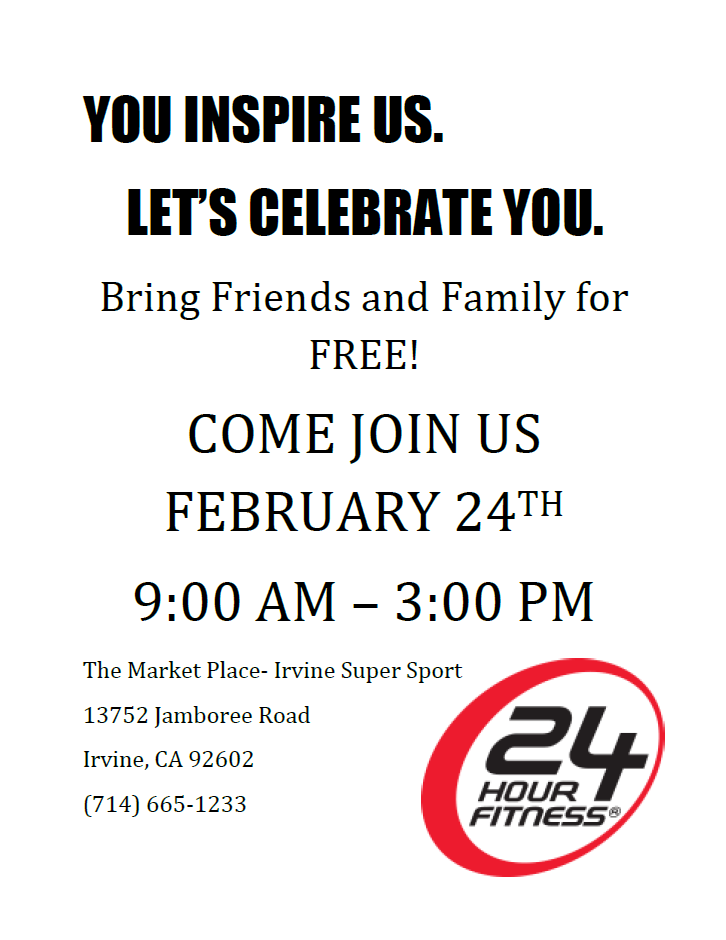 24 Hour Fitness | The Market Place